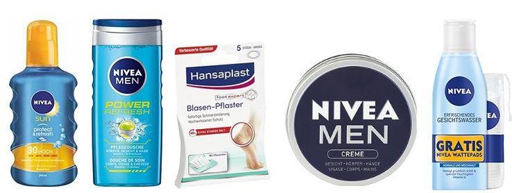 Nivea Gutschein 20% Rabatt auf ausgewählte Nivea Pflegeprodukte nur heute