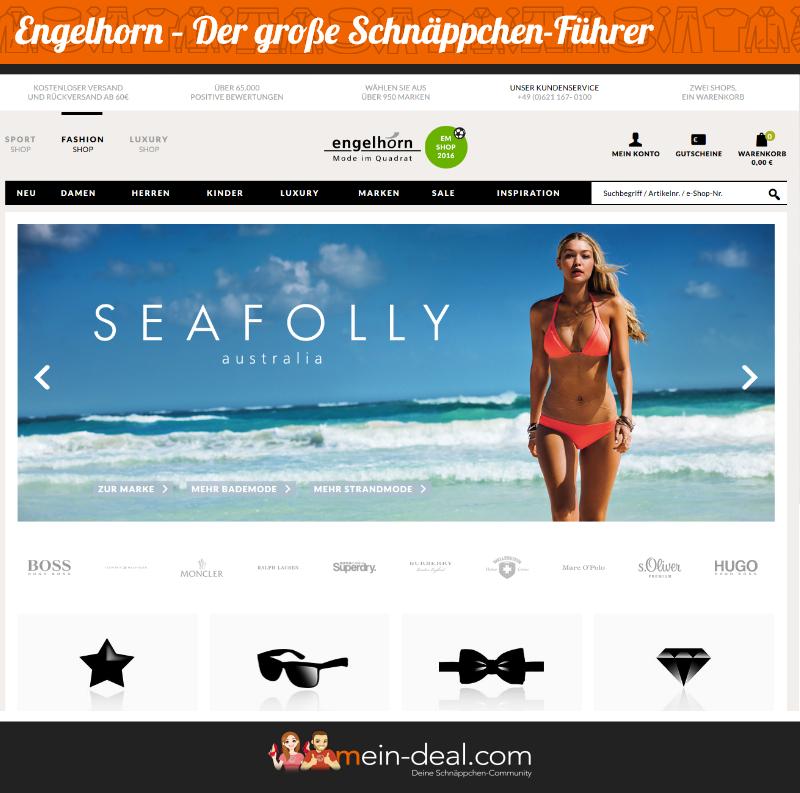 Online Shop Der große engelhorn Schnäppchenführer