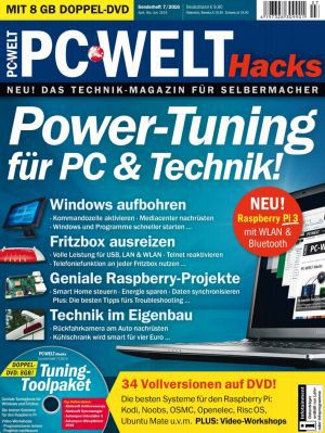 PC Welt Hacks PC Welt Hacks Sonderheft 07/2016 kostenlos (statt 9,90€)
