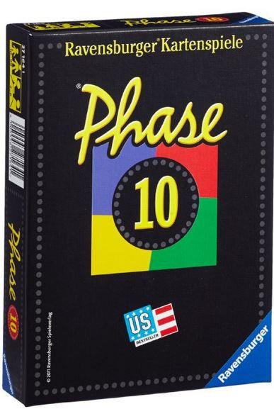 Phase 10 Kartenspiel Ravensburger Phase 10 in der Kartenspielversion für nur 6,99€