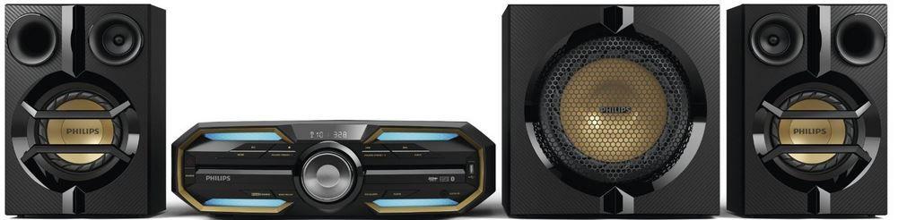 Philips FX55 HiFi Minisystem Philips FX55 HiFi Minisystem 750 Watt mit Bluetooth, NFC für 229,99€