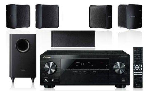 Pioneer HTP 072   5.1 Lautsprecher System + AV Receiver für 226,95€ (statt 268€)