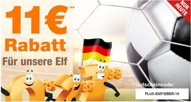 Plus.de Gutschein Plus.de mit 11€ Rabatt auf fast alles ab 80€   bis Mitternacht