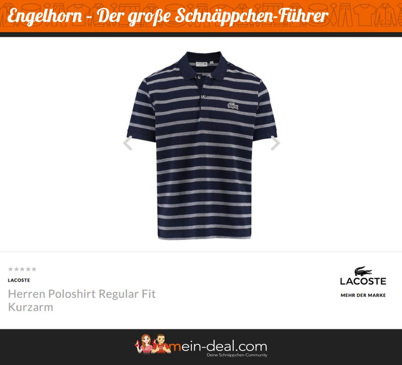 Klassisches, gestreiftes Polo-Shirt für Herren von Lacoste