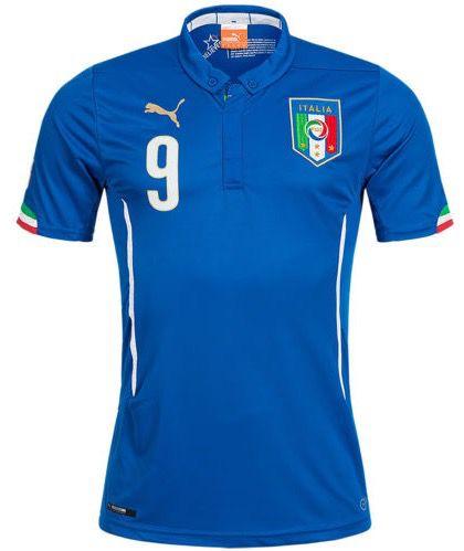 Puma Italien Heim Trikot Puma Italien Heim Trikot #9 Balotelli für 15,99€