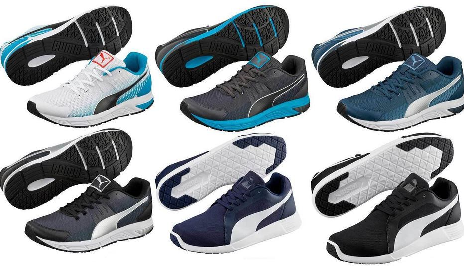 Puma Laufschuhe PUMA Unisex Sneaker und Trainingsschuhe (statt 40€) für 24,99€