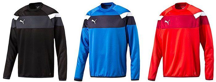 Puma Spirit II Kinder Trainings Sweatshirt ab 8,10€ (statt 21€)