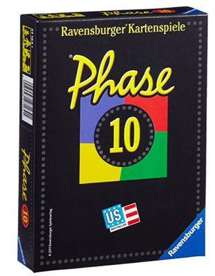 Ravensburger Phase 10 Ravensburger Phase 10 Kartenspiel ab 6,39€ (statt 13€)