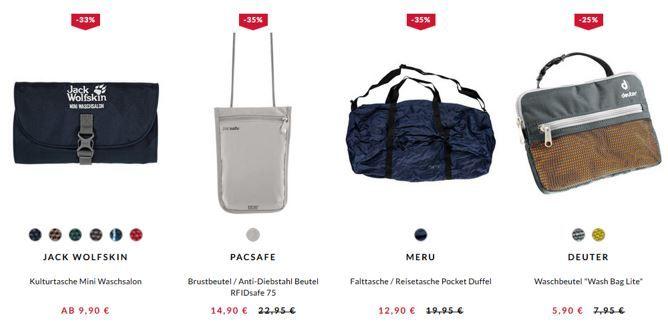 Reisegepäck Sale Engelhorn mit bis zu 35% Rabatt auf Rucksäcke + bis 40% aus Reisegepäck