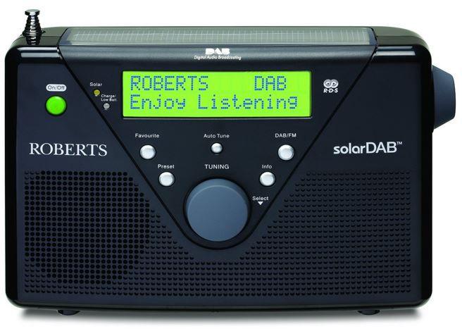 Roberts SolarDAB 2 DAB+ Solar Digitalradio für 99€