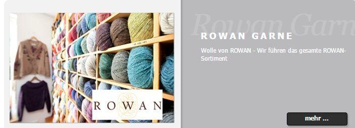 Garn  und Stoffproben von ROWAN kostenlos anfordern