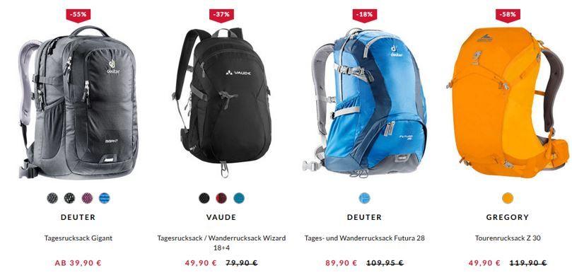Rucksack Sale Engelhorn mit bis zu 35% Rabatt auf Rucksäcke + bis 40% aus Reisegepäck