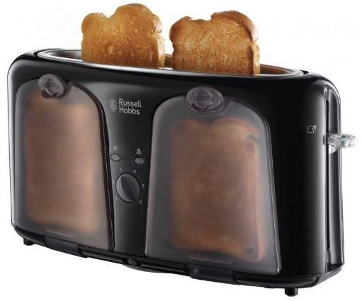 Russell Hobbs Easy Langschlitz Toaster mit Warmhalte Fach für 19,99€ (statt 28€)