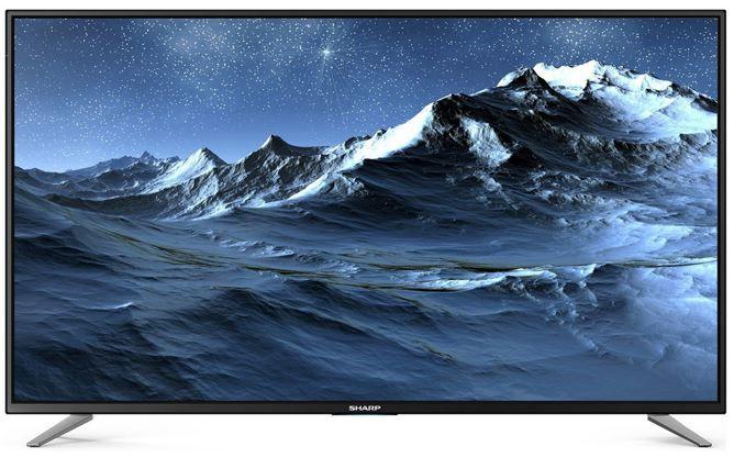 SHARP LC 49CFE6032   49 Zoll Smart TV mit triple Tuner (DVB T2) für 329,99€