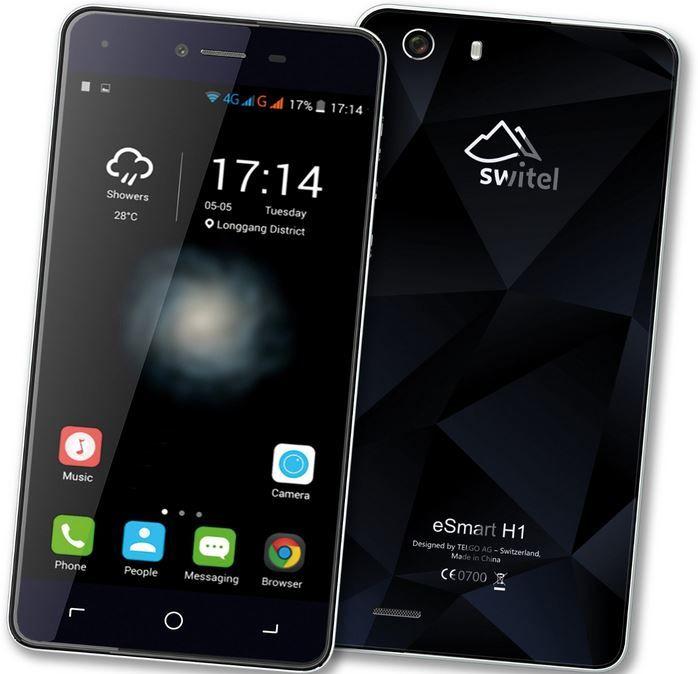 SWITEL H1 LTE Switel eSmart H1   5 Zoll Dual Sim LTE Smartphone für 139,95€ (statt 199€)