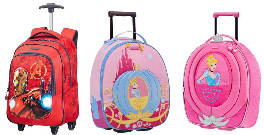 Samsonite Disney Samsonite Kinder Trollies + Rucksäcke im Disney Design für 29,99€ (statt 40€)