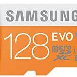 Samsung EVO MicroSDXC Speicherkarte mit 128GB ab 27€