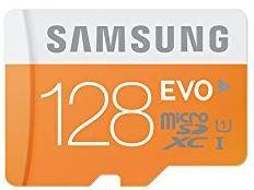 Samsung 128GB Evo Samsung EVO MicroSDXC Speicherkarte mit 128GB ab 27€