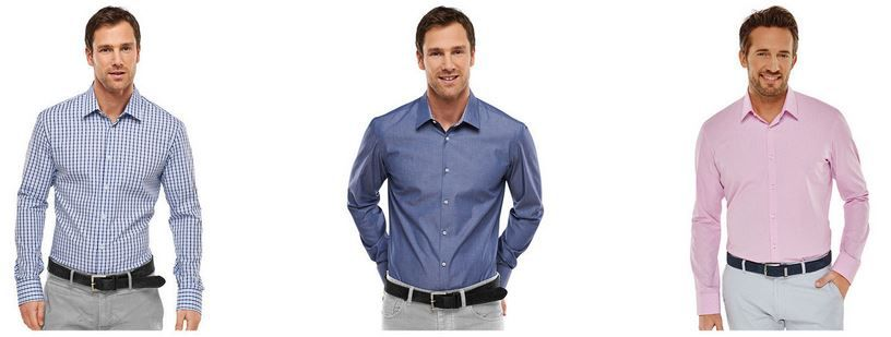 Schiesser Herren Langarm Hemden für je 20,95€ + 20% Extra Rabatt bei 3 Hemden