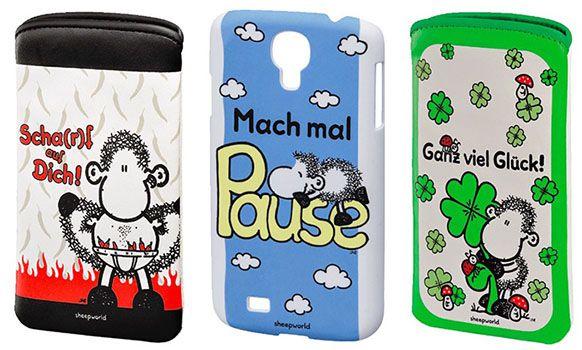 Viele Sheepworld Smartphone Sleeves & Hüllen für 1€ (statt 3€)
