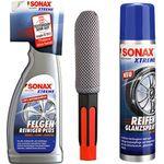 Sonax Xtreme Felgenreiniger 750ml + Bürste und 400ml Reifen-Glanzspray für 15,90€ (statt 24€)