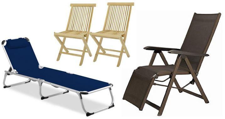 Bis zu 55% Rabatt auf ausgewählte Gartenstühle   z.B. Kettler Sevilla Relaxsessel für nur 59,99€