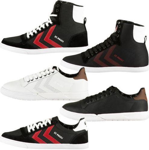 St. Pauli Sneaker Hummel FC St Pauli   High u. Low cut Leder Damen und Herren Sneaker für 30€