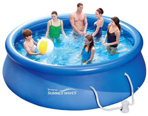 Summer Waves Fast Pool Summer Waves Fast Pool 366x91cm + Filterpumpe für 64,95€ (statt 95€)