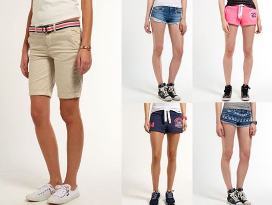 Superdry Hosen Superdry Damen Shorts für je 11,96€ (statt 19€)