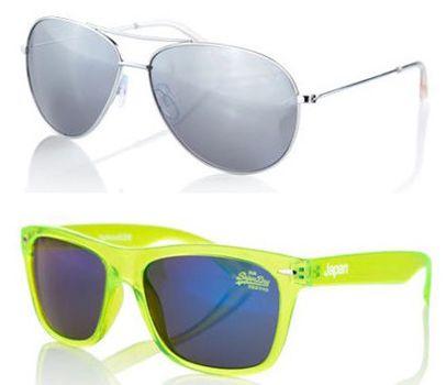 Superdry Sonnenbrillen Superdry Sonnenbrillen für je 12,95€ (statt 24€)