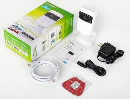 TP Link NC TP LINK NC200   WLAN Cloud Netzwerkkamera mit Repeater und Bewegungsmelder für 24,99€