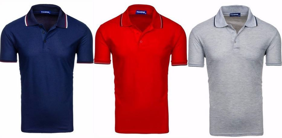 Tahono Herren Poloshirts Tahono   Herren Poloshirts in 33 Farben für je 8,95€