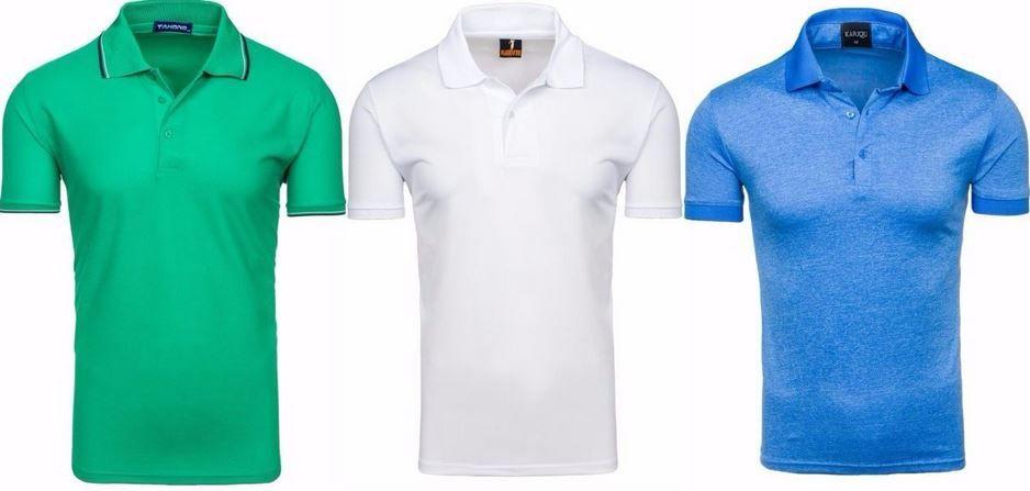 Tahono Tahono   Herren Poloshirts in 33 Farben für je 8,95€