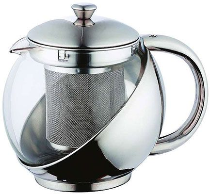 Teekanne Renberg Edelstahl Teekanne für 5,97€(statt 14€) + gratis Artikel