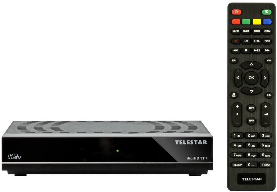 Telestar digiHD TT4   DVB T2 Receiver für 49,90€