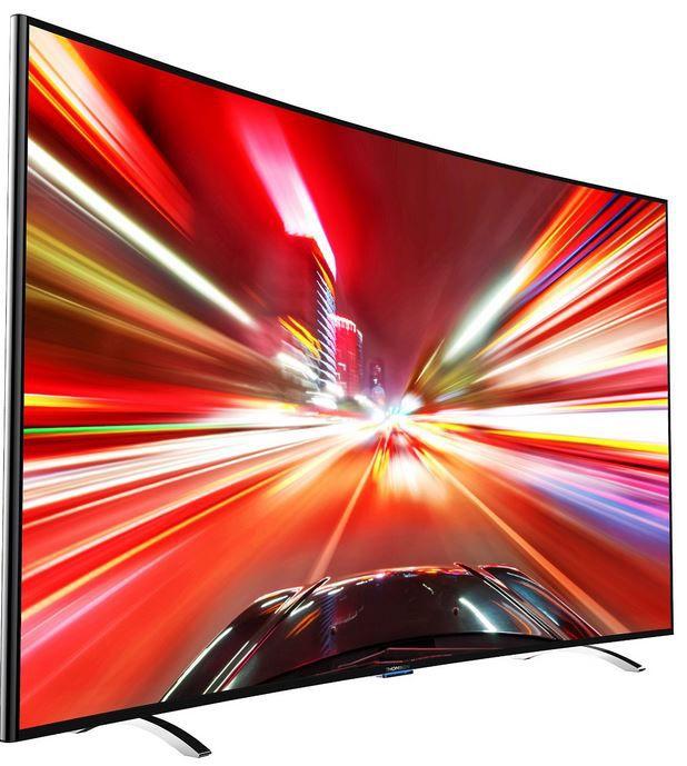 Thomson 55UA8596   55 Zoll Smart curved UHD TV für 699€
