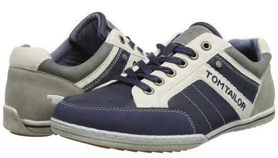 TOM TAILOR Derby   Leder Herren Sneaker für 24,99€