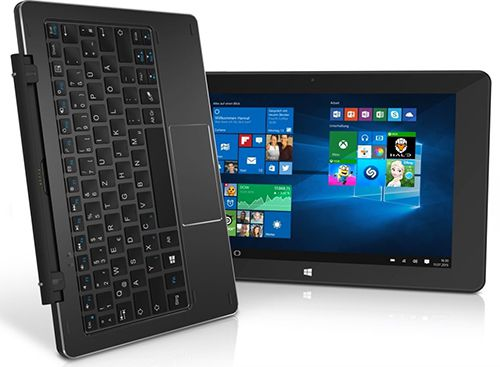 TrekStor SurfTab duo W1   10 Zoll Windows Tablet (Retourengerät) für 119,90€ (statt neu 168€)