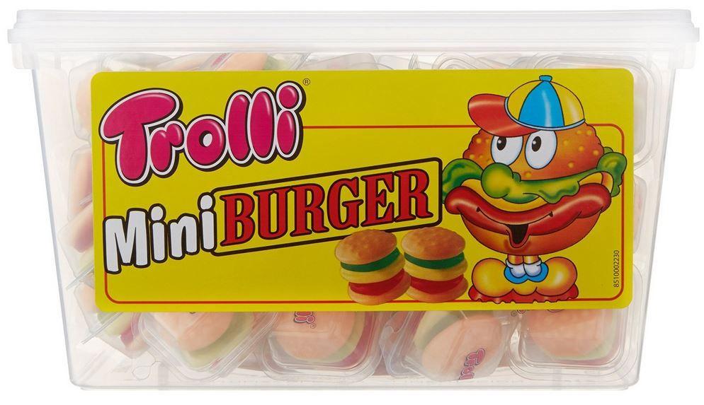 Trolli Mini Burger   600 g Fruchtgummi ab 5,95€