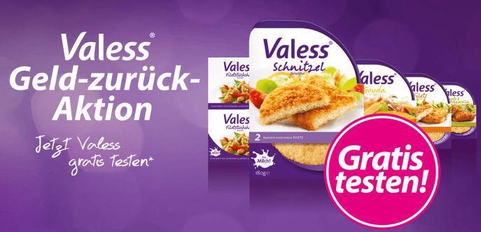 Valess Banner Valess kostenlos testen dank Geld zurück Garantie
