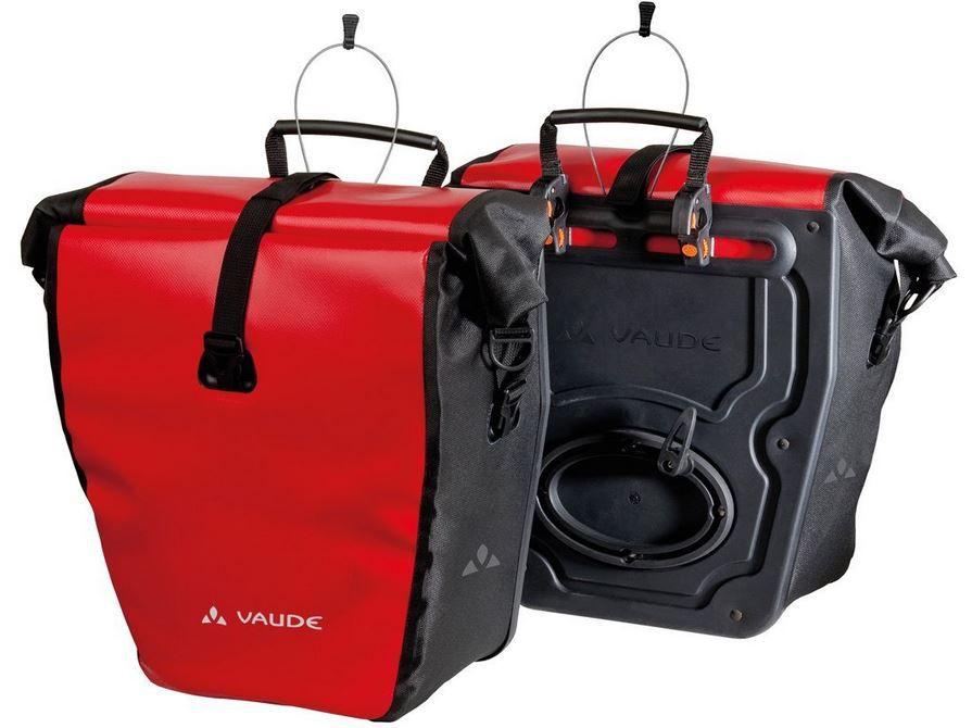 Vaude Radtasche Aqua Back (2 Stück) wasserdichte Gepäckträger Taschen für nur 65€