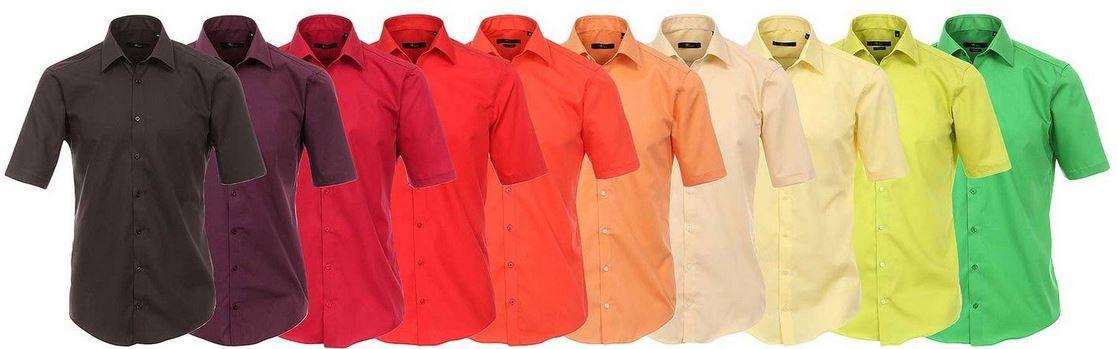 Venti   Herren kurzarm Businesshemd viele Farben für je 17,99€