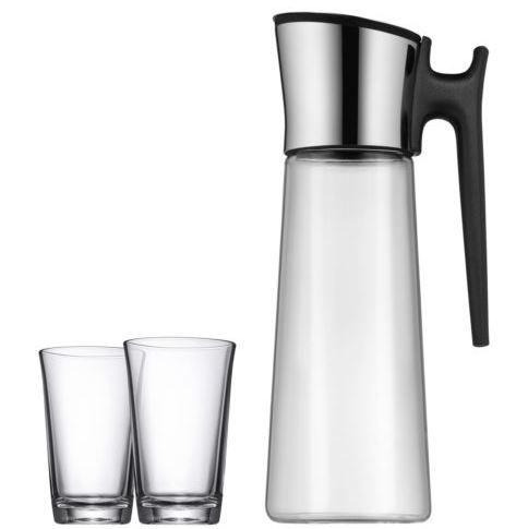 WMF Wasserkaraffe Basic 1l + 2 Gläser für 29,95€ (statt 50€)