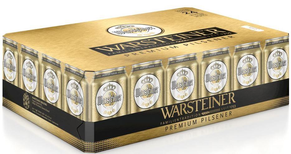 Warsteiner Warsteiner Premium Pilsener Palette (24 x 0.33 l) ab 11,99€