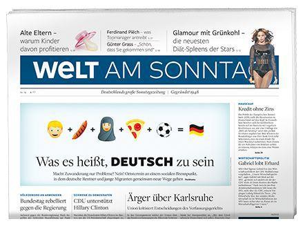 """6 Monate """"Welt am Sonntag"""" gratis lesen   endet automatisch"""
