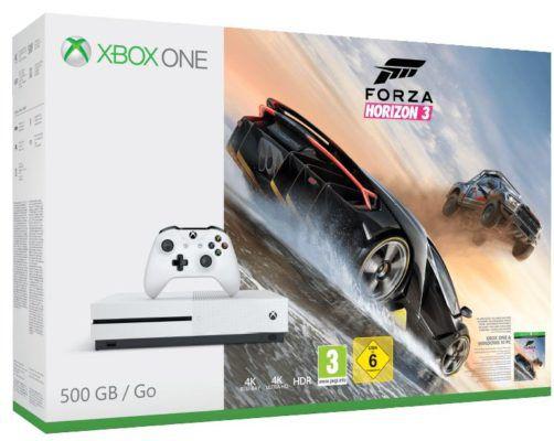 Xbox One S 500GB + Forza Horizon 3 oder FIFA 17 für 186€ (statt 240€) bis Mitternacht