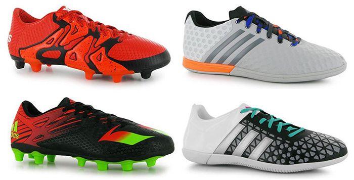 adidas Fußballschuhe bei sportsdirect   z.B. adidas Ace 15.3 für 26€ (statt 40€)