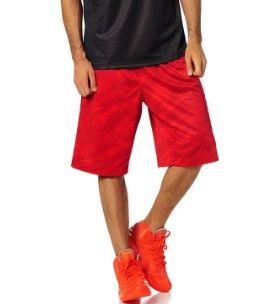 adidas GFX Reversible Short Herren Basketball Hose Rot