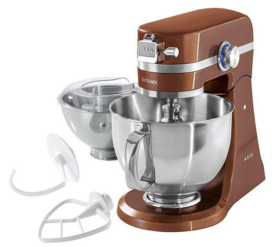 AEG UltraMix KM 4900   Küchenmaschine mit viel Zubehör für 295€ (statt 349€)