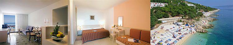 albona hotel kroatien zimmer 7 Tage Kroatien mit Flug & Apartment direkt am Strand ab 367€ p.P.